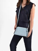 Shoulder Bag Sable Miniprix Blue sable R1549-vue-porte