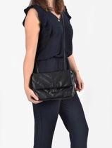 Shoulder Bag Coco Miniprix Black couture R1575-vue-porte