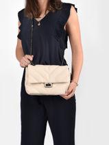 Shoulder Bag Coco Miniprix White coco R1575-vue-porte