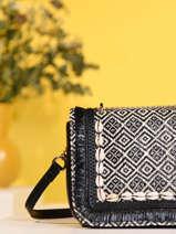 Crossbody Bag Ethnic Miniprix Black ethnic BV20026