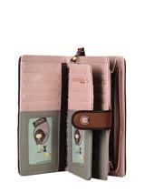 Mexico Zip Wallet Anekke Pink mexico 32710901-vue-porte
