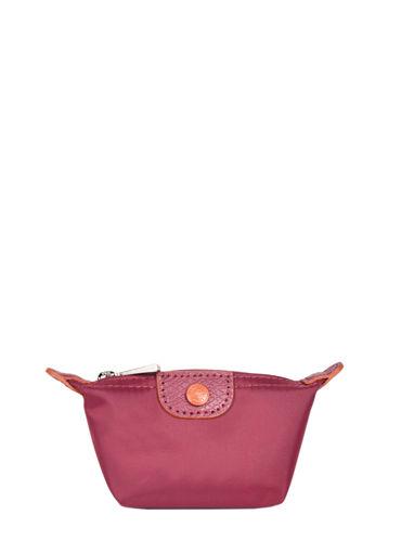 Longchamp Le pliage club Porte-monnaie Rouge