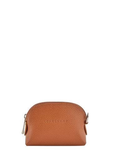 Longchamp Le foulonné Coin purse Violet
