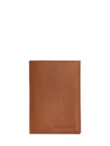 Longchamp Le foulonné Passport cover Violet