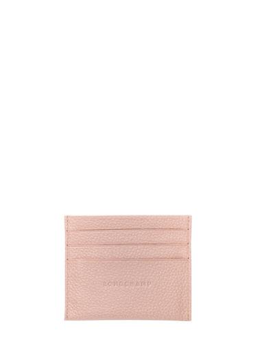 Longchamp Le foulonné Porte billets/cartes Rose