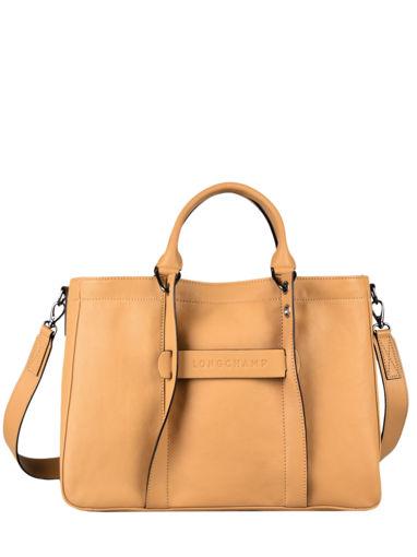 Longchamp Longchamp 3d zip Handbag Brown