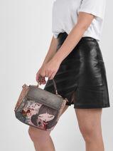 Shoulder Bag Mexico Anekke Pink mexico 32710377-vue-porte