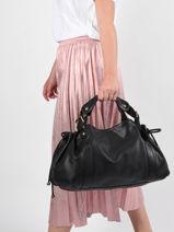 Shopper Gd Leather Gerard darel Black gd DPS01401-vue-porte