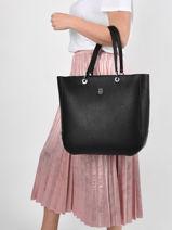 Shoulder Bag Th Essence Tommy hilfiger Black th essence AW09519-vue-porte