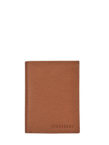 Longchamp Le foulonné Wallet Brown