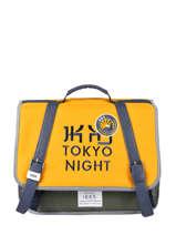 Satchel 1 Compartment Ikks Yellow backpacker in tokyo 20-38836