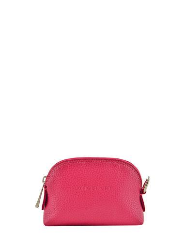 Longchamp Le foulonné Porte-monnaie Violet