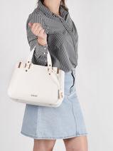 Shoulder Bag Estrosa Liu jo White estrosa AA1182-vue-porte