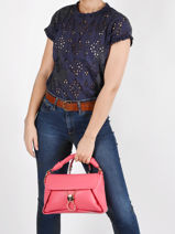 Imprevedibile Crossbody Bag Liu jo Pink imprevedible AA1077-vue-porte