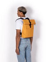 "Jasper Mini Backpack With 15"" Laptop Sleeve Ucon acrobatics Yellow backpack JASPMINI-vue-porte"