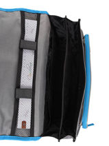 Satchel For Kids 2 Compartments Cameleon Gray actual BAS-CA35-vue-porte
