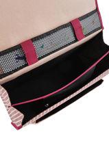 Satchel For Kids 2 Compartments Cameleon Pink retro REV-CA35-vue-porte