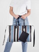 Shoulder Bag Iconic Tommy Tommy hilfiger iconic tommy AW09954-vue-porte