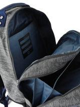 Backpack Class Room 2 Compartments Kipling Gray back to school / pbg PBGI4053-vue-porte