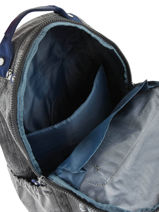 Backpack Seoul Go 1 Compartment Kipling Gray back to school / pbg PBG21316-vue-porte