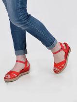 Sandals elba-TOMMY HILFIGER-vue-porte