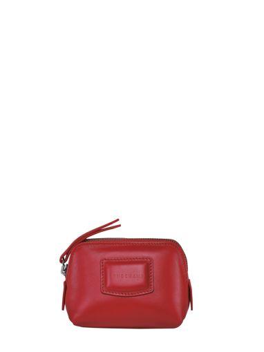 Longchamp Brioche Porte-monnaie Rouge