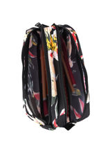 Trousse 2 Compartiments Roxy Noir back to school RJAA3776-vue-porte
