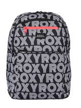 Backpack Here You Go 3 Compartments Roxy Black back to school RJBP4159