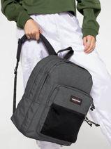 Backpack 2 Compartments Eastpak Gray authentic EK060-vue-porte