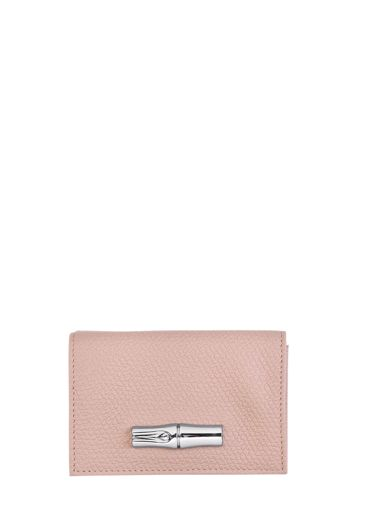 Longchamp Roseau Wallet Pink