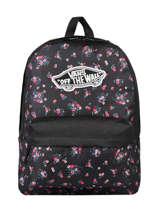 Sac à Dos 1 Compartiment + Pc 15'' Vans Noir backpack VN0A3UI6