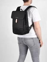 """Sac à Dos Business + Pc15"""" Kapten and son backpack FYN-vue-porte"""