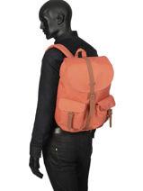 Sac A Dos 1 Compartiment Herschel Orange classics 10233PBG-vue-porte