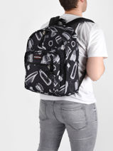 Backpack Dakota 1 Compartment Eastpak pbg authentic PBGK09E-vue-porte