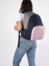Backpack Shadow Swell 3 Compartments Roxy Pink back to school RJBP4263-vue-porte