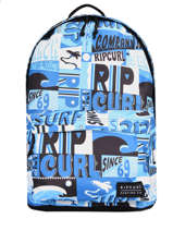 Backpack 1 Compartment Rip curl Blue surf - BBPB55SU