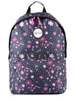 Backpack 2 Compartments Rip curl Multicolor floral - LBPRI4F2