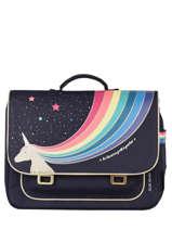 Satchel It Bag Mini 2 Compartments Jeune premier Blue classics CLD21