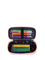 Pencil Case 1 Compartment Jeune premier Pink daydream girls G-vue-porte
