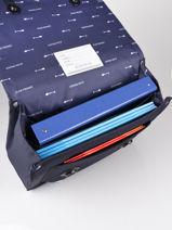 Cartable It Bag Midi Boy 2 Compartiments Jeune premier Argent daydream boys B-vue-porte