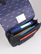 Cartable It Bag Maxi Boy 2 Compartiments Jeune premier Noir daydream boys B-vue-porte