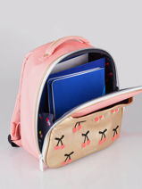 Backpack Classic Ralphie Jeune premier Pink classics RA021-vue-porte