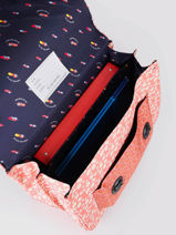 Satchel It Bag Maxi Girl 2 Compartments Jeune premier Pink daydream girls G-vue-porte