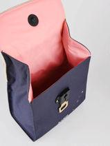 Lunch Bag 1 Compartment Jeune premier Blue classics LUN21-vue-porte