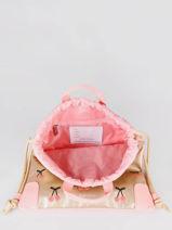 Gym Bag City Bag Jeune premier Pink classics CI021-vue-porte