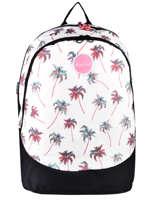 Backpack 2 Compartments Rip curl White palmier LBPRI4P1