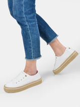 Sneakers compensées white sunset-TOMMY HILFIGER-vue-porte