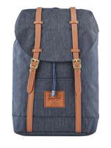 Backpack Retreat 1 Compartment + 15'' Pc Classics Classics Classics Herschel Blue classics 10066