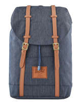 Backpack Retreat 1 Compartment + 15'' Pc Classics Herschel Blue classics 10066