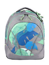 Backpack For Kids 2 Compartments Cameleon Gray actual SD43